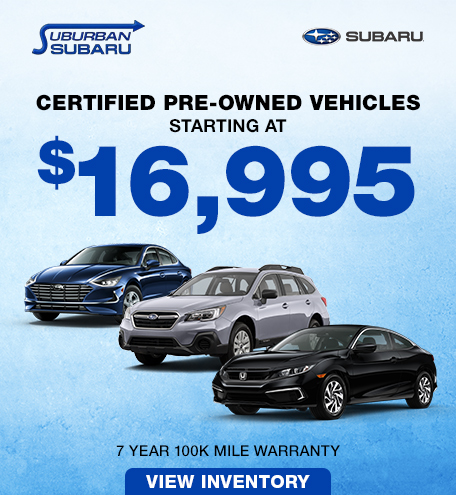 CPO Vehicles starting at $16,995